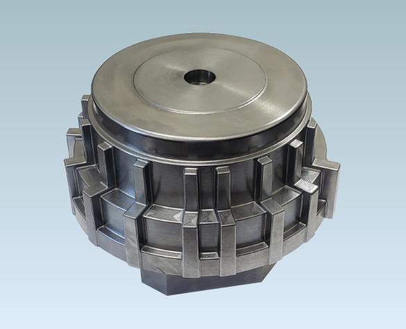 5軸加工機による金型加工サンプル